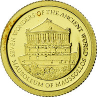 Monnaie, Îles Salomon, Elizabeth II, Mausolée De Mausole, 5 Dollars, 2011 - Salomon