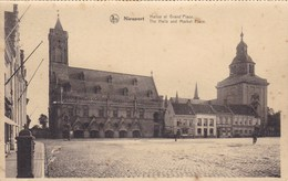 Nieuwpoort, Nieuport , Halles Et GRand Place (pk60931) - Nieuwpoort