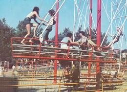 CPM 10x15 . JEUX . Les Grandes Balançoires Parc D'Attraction De BAGATELLE (62) - Other