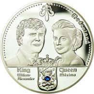 Pays-Bas, Médaille, Les Dynasties Royales, Willem-Alexander Et Maxima, FDC - Pays-Bas