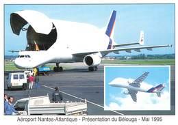 EVENEMENTS NANTAIS 1995 - AEROPORT NANTES ATLANTIQUE PRESENTATION DU BELOUGA MAI 1995 - France