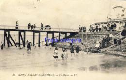 80 - Saint-Valéry-sur-Somme - Les Bains 1921 - Saint Valery Sur Somme