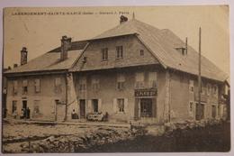 Cpa Labergement Sainte Marie Doubs Maison J Paris - 1908 - TOR20 - France