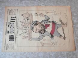 Le Don Quichotte, Revue Satirique,1883, Spuller, Député   Ministre , Né à Seurre, Décédé à Sombernon, Franc-maçon,Tonkin - Books, Magazines, Comics