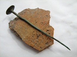 Ancient Bronze Age Pin - Archeologie