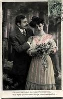 Cpa Fantaisie Série Couple 497 - Couples
