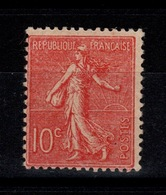 YV 129 N* (trace) Semeuse Cote 9 Euros - France