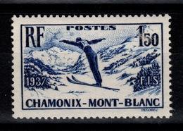 YV 334 N** Chamonix Cote 16 Euros - Neufs