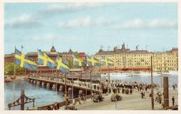 STOCKHOLM-KUNGL VAKTPARADEN- NON VIAGGIATA - Svezia