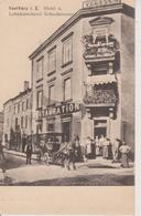 57 - SARREBOURG - HOTEL RESTAURANT VOGESEN ET CALECHE SCHOUBRENNER - CARTE RARE - Sarrebourg