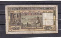 Belg 100 Fr 1945  F - [ 2] 1831-... : Regno Del Belgio