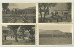 10 Cartoline Militari Della Brigata Cremona Con Il S.a.r. Principe Di Piemonte, Ilgenerale Nino Sozzani ( Vedi Descr. ) - Ausrüstung