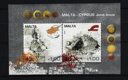 MALTA Block Mi-Nr. 43 Einführung Der Euro-Währung Gestempelt - Malta