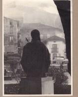 LAREDO Statue De Charles Quint 1954 ESPAGNE  Photo Amateur Format Environ 7,5 X 5,5 Cm - Lieux