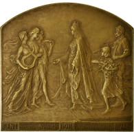 Belgique, Médaille, Exposition Universelle De Gand, 1913, Devreese, TTB+ - Autres