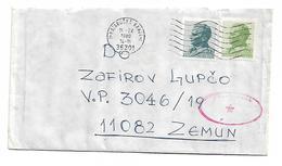 Mataruska Banja To Zemun ARMY Cenzor Post 1980 - Non Classificati