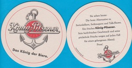 König Brauerei Duisburg ( Bd 2274 ) - Bierdeckel