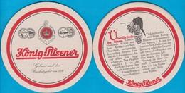 König Brauerei Duisburg ( Bd 2277 ) - Bierdeckel