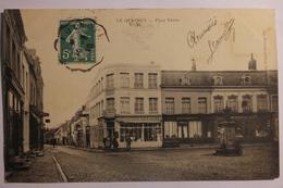 Cpa Le Quesnoy Place Ferrer 1910 - TOR20 - Le Quesnoy