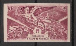 SPM - 1946 - Poste Aérienne PA N°Yv. 11 - Victoire WW2 - Non Dentelé / Imperf. - Neuf Luxe ** / MNH / Postfrisch - WW2
