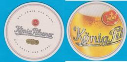 König Brauerei Duisburg ( Bd 2280 ) - Bierdeckel