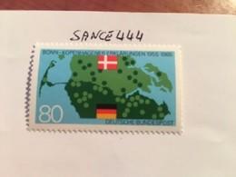 Germany Danish-German Treaties 1985 Mnh - [7] Federal Republic