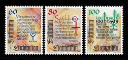 LIECHTENSTEIN 1993 Christmas: Set Of 3 Stamps UM/MNH - Neufs