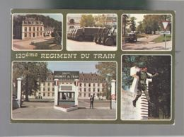 CP (77) Fontainebleau - 120° Régiment Du Train - Fontainebleau