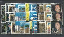 ESPAÑA EDIFIL  1576/89  (3 SERIES)   MNH  ** - 1961-70 Nuevos & Fijasellos