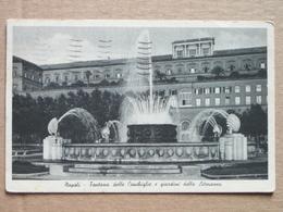 NAPOLI -1939- FONTANA DELLE CONCHIGLIE E GIARDINI LITORANEA - FP----BELLISSIMA  - - Napoli