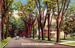 Vermont Burlington Residential Section - Burlington