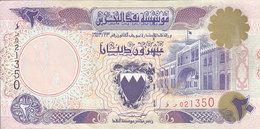 BAHRAIN 20 DINARS 1993 P-16 UN AUTHORIZED SECOND ISSUE AU/ About UNC - Bahrain