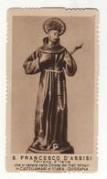 Santino Antico San Francesco D'Assisi Da Castellammare Di Stabia - Napoli - Religione & Esoterismo