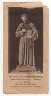 Santino Antico San Francesco D'Assisi Da Sorrento - Napoli - Religione & Esoterismo
