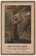 Santino Antico Svizzero San Francesco D'Assisi - Religione & Esoterismo