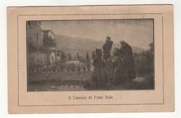 Santino Antico San Francesco D'Assisi Il Cantico Di Frate Sole - Religione & Esoterismo