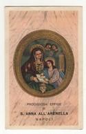 Santino Antico Sant'Anna All'Arenella Da Napoli - Religione & Esoterismo