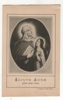 Santino Antico Francese Sant'Anna - Religione & Esoterismo