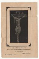 Santino Antico Gesù Crocifisso Da Napoli - Religione & Esoterismo