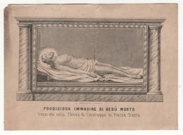 Santino Antico Gesù Morto Da Napoli - Religione & Esoterismo