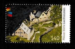 LIECHTENSTEIN 2012 Pfälzerhütte/Joint Issue With Germany: Single Stamp UM/MNH - Nuevos