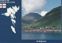 Foroyar  Faroe Islands Kollafjordur - Faroe Islands