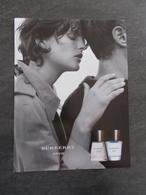 Publicité Papier Parfum - Perfume Ad : BURBERRY Touch  France 2000 - Advertisings (gazettes)