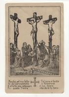 Santino Antico Stampa Gesù Crocifisso - Religione & Esoterismo
