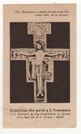Santino Antico Gesù Crocifisso Di San Damiano - Assisi - Religione & Esoterismo
