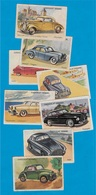 IMAGE Chocolat KEMMEL 59 BOURBOURG Nord (Lot De 8) Automobile Auto Voiture Car - Documentos Antiguos