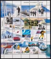 Australian Antarctic 2001 Australians In The Antarctic Sheet MNH - Australian Antarctic Territory (AAT)