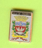 Pin's Ville Du Québec Chambly - 1GG21 - Städte