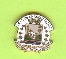 Pin's Ville Du Québec Château-Richer - 1GG23 - Städte