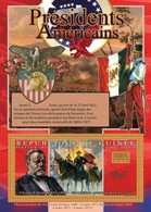 Guinea, 2010. [gu10511] US Presidents, Ulysses S. Grant (s/s+block) - George Washington